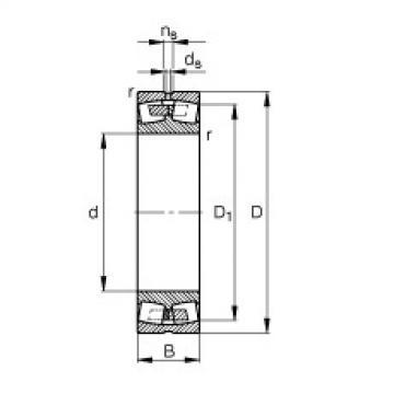 Rodamientos 238/1060-B-MB FAG