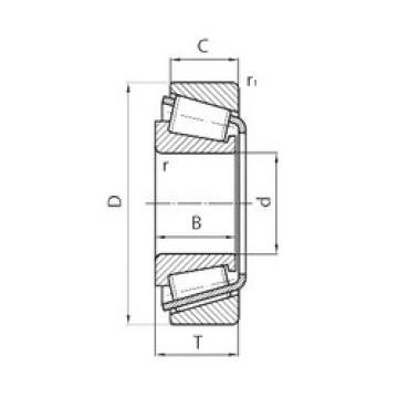 Rodamiento L44643/10 PFI