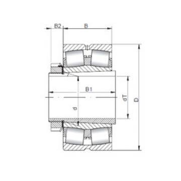 Rodamientos 23288 KCW33+H3288 ISO