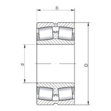 Rodamientos 238/1000W33 ISO