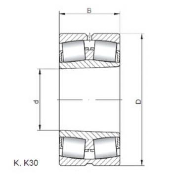 Rodamientos 23276 KCW33 CX
