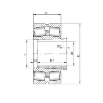Rodamientos 23268 KCW33+AH3268 ISO