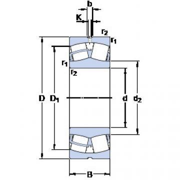 Rodamientos 23944 CC/W33 SKF