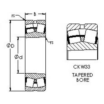 Rodamientos 23260CAKW33 AST