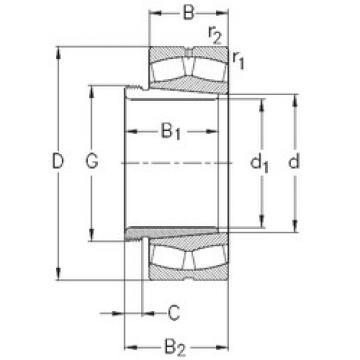 Rodamientos 23284-K-MB-W33+AH3284 NKE