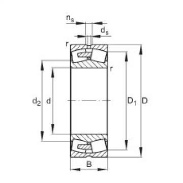 Rodamientos 23264-E1A-MB1 FAG