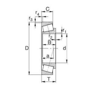 Rodamiento L44649/L44610 KBC