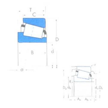 Rodamiento JXC25723C/JXC25723D Timken