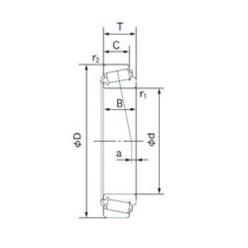 Rodamiento L44649/L44610 NACHI