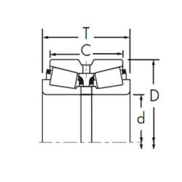 Rodamiento L521949/L521910D+L521949XA Timken