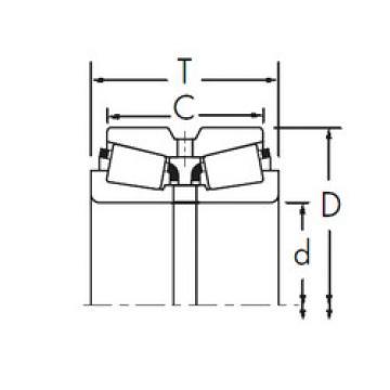 Rodamiento L521949/L521910DC+L521949XA Timken
