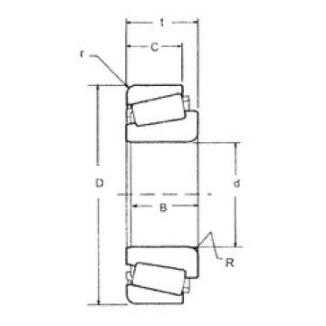 Rodamiento L432349/L432310 FBJ