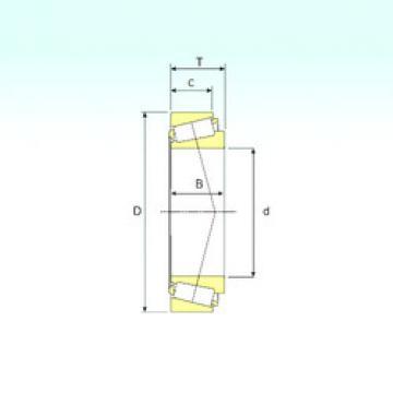 Rodamiento L183448/L183410 ISB