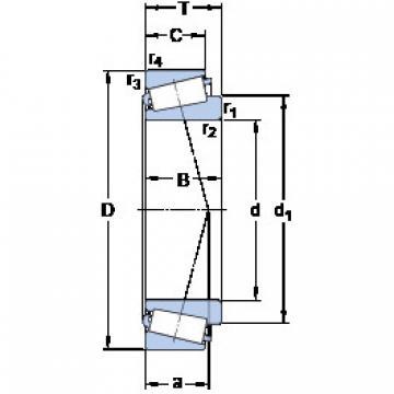 Rodamiento L 432349/310 SKF