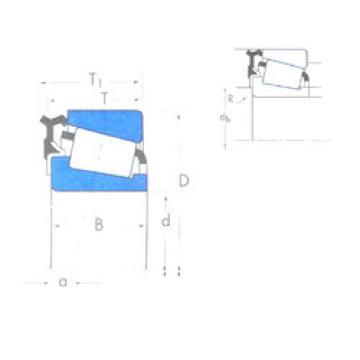 Rodamiento L44643X/L44610-L44600LA Timken
